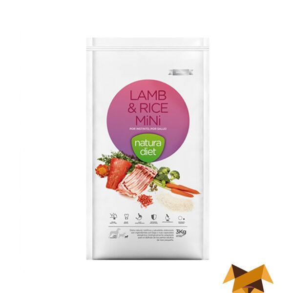 Natura Diet Lamb Rice Mini
