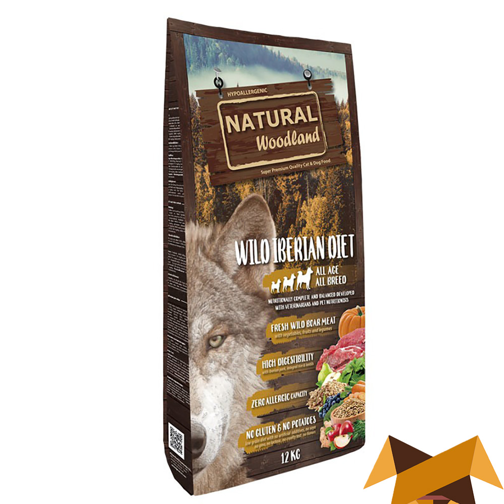 Natural Woodland wild Iberian Diet